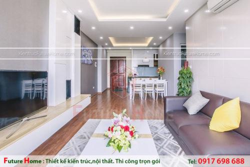 thiết kế và thi công nội thất trọn gói chung cư
