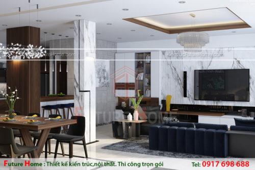 xu hướng thiết kế nội thất hiện đại 2018